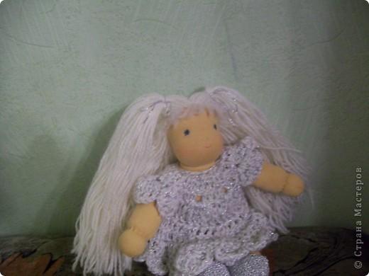 Вальдорфская кукла - Снежинка фото 2