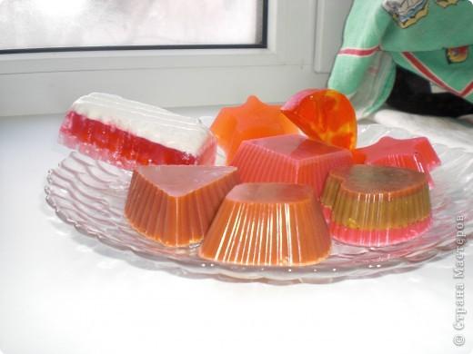 многослойное мыло фото 1