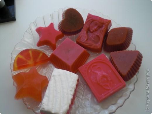 многослойное мыло фото 3