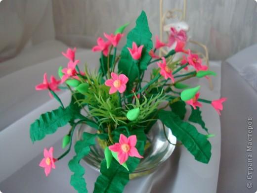 Очень нравятся маленькие цветочные букетики. И вот перед вами мои робкие попытки по их созданию. фото 5