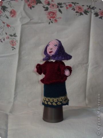 Вязаные куклы для сказки репка фото 4