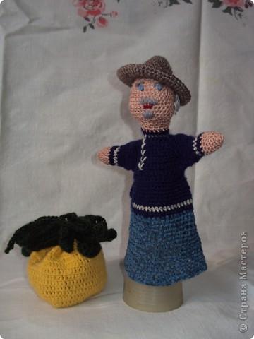 Вязаные куклы для сказки репка фото 2