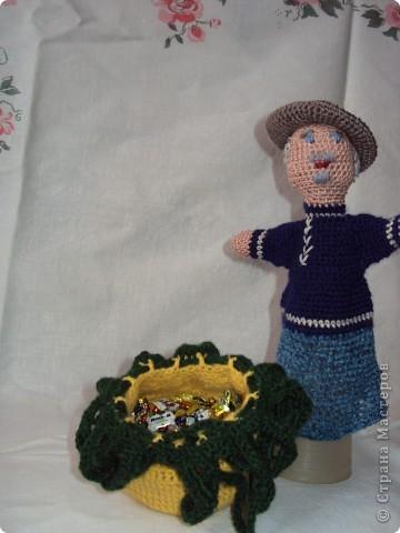 Вязаные куклы для сказки репка фото 3