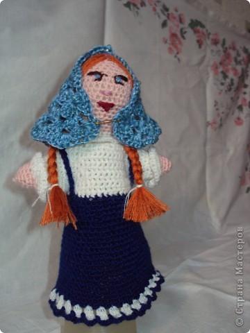 Вязаные куклы для сказки репка фото 5