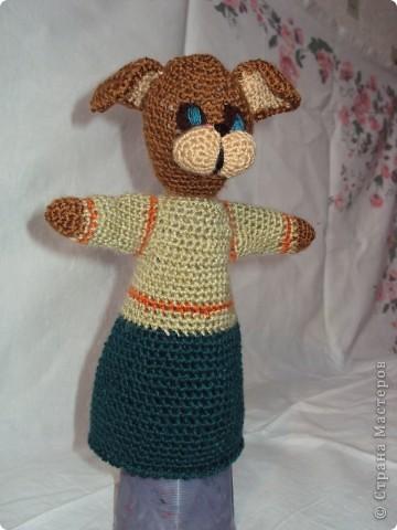Вязаные куклы для сказки репка фото 6