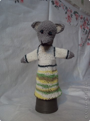 Вязаные куклы для сказки репка фото 8