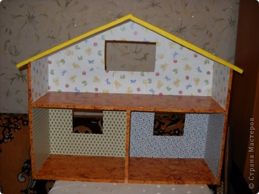Подарок дочкам - домик для кукол. фото 2