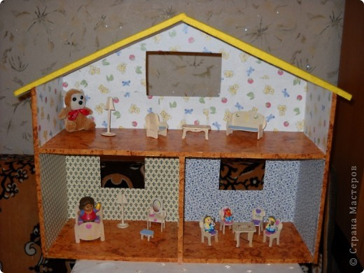 Подарок дочкам - домик для кукол. фото 1