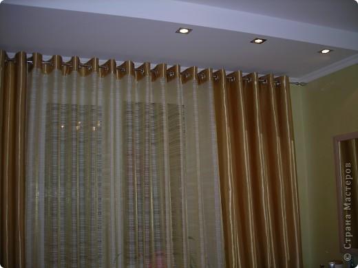 Мои первые шторы на люверсах