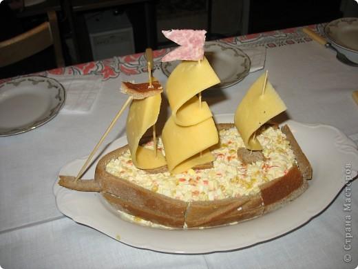 На день рождения сын хотел корабль. Сыну, его друзьям и кумовьям корабль очень-очень понравился. фото 1