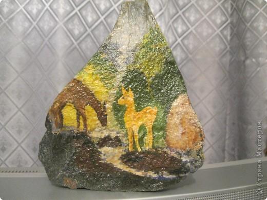 Роспись камня