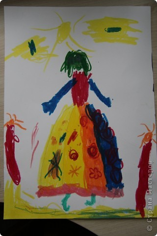 Наши январские произведения на уроках рисования. Снегири на ветке.   фото 4