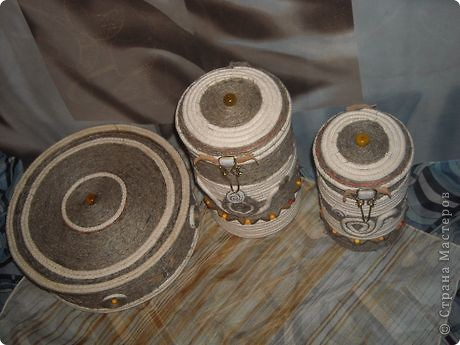 Всегда нравились подобные вещи. Были две старые баночки из под чая, долго думала как бы их оформить уютненько. Увидела блог Alex2218 и вдохновилась!  фото 2