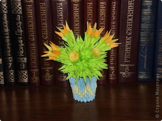 цветочки из квилинга фото 1