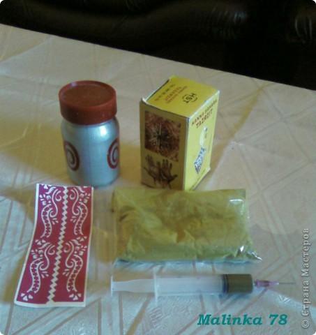 Салфетница (выполнена хной) Мастер-класс фото 2