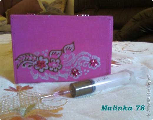Салфетница (выполнена хной) Мастер-класс фото 9