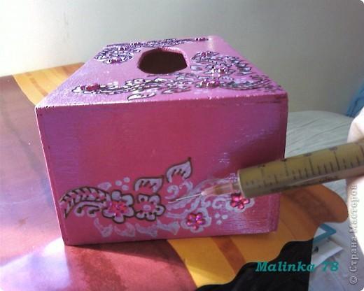 Салфетница (выполнена хной) Мастер-класс фото 10
