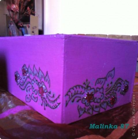 Салфетница (выполнена хной) Мастер-класс фото 11