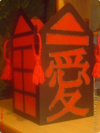 Китайский фонарик Картон