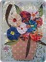 """Очень понравилась эта поделка из книги Татьяны Николаевны """"Цветы""""  Попробовала сделать свой букет. Скоро 8 Марта. фото 1"""