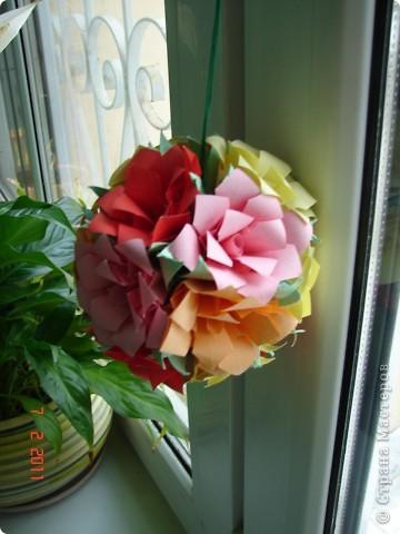 """Кусудама """"Розы"""""""