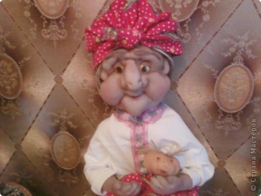 Жарким летом 2010года в качестве отдыха делала кукол фото 3