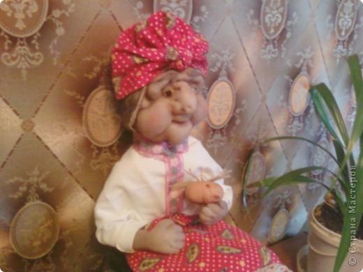 Жарким летом 2010года в качестве отдыха делала кукол фото 4