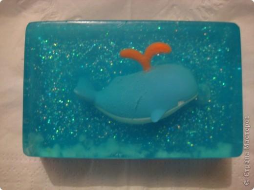игрушка в мыле, плавает...первый опыт :) фото 4