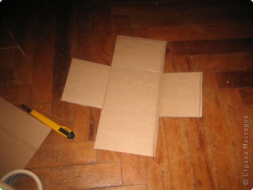 Коробочка для конструктора (сынишке) фото 2