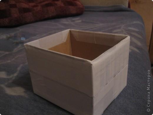 Коробочка для конструктора (сынишке) фото 4