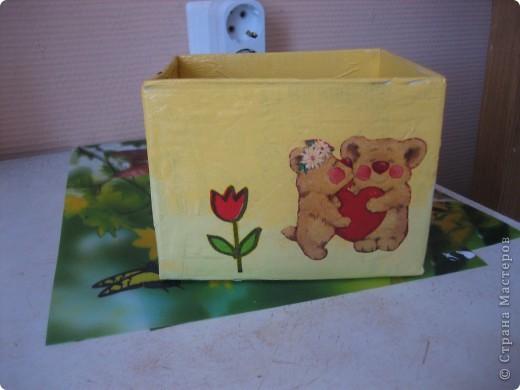Коробочка для конструктора (сынишке) фото 6