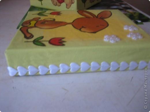 Коробочка для конструктора (сынишке) фото 7