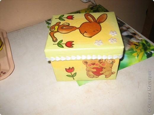 Коробочка для конструктора (сынишке) фото 8