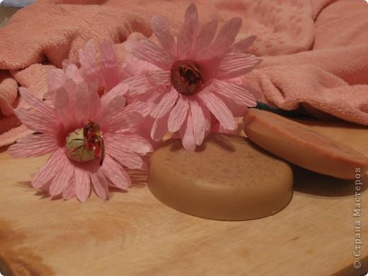решила попробовать сварить мыло, и вот что получилось... мыло с ароматом апельсина... фото 2