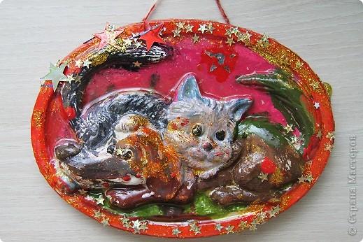 Котенок и собачка фото 1