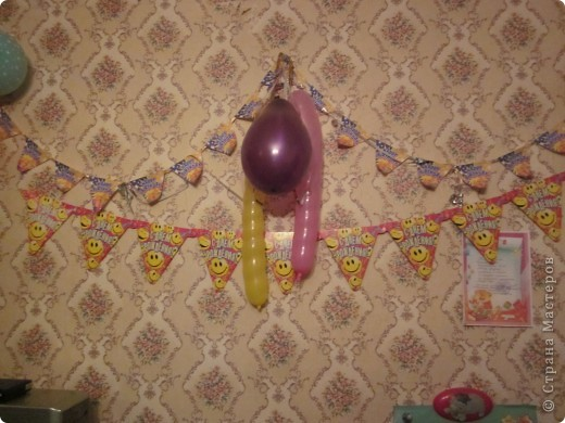 Эти шарики я сделала фотошопом распечатала и раскрасила . фото 3