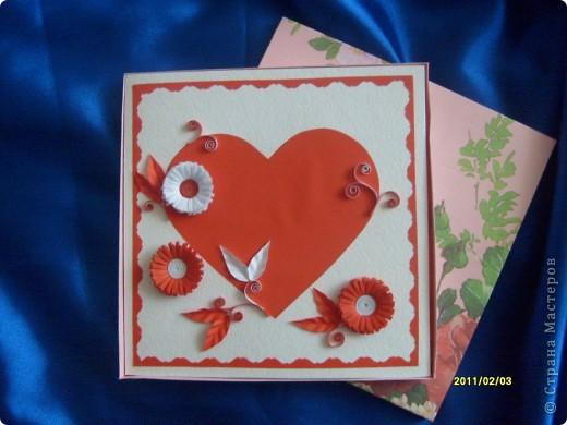 Вот такие вот открытки я сделала в подарок своим двум подружкам. Живут они далеко, поэтому упаковала открыточки в коробочки и отправила по почте. фото 2
