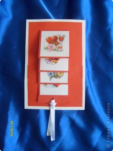 Вот такие вот открытки я сделала в подарок своим двум подружкам. Живут они далеко, поэтому упаковала открыточки в коробочки и отправила по почте. фото 6