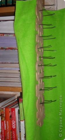 Вот такую подставку(подвеску) сделал мой папа для ниток, ножниц. фото 3