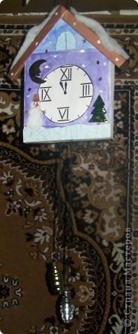 Новогодние часики. фото 1