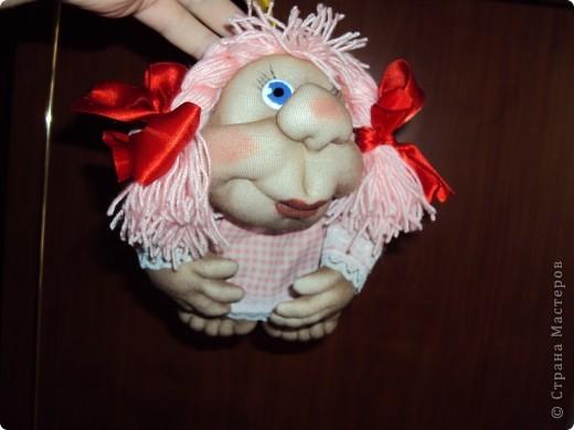 "Кукла на счастье ""РОЗОЧКА"" фото 2"