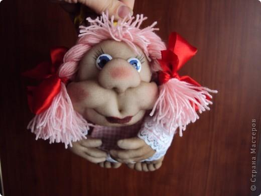 "Кукла на счастье ""РОЗОЧКА"" фото 1"