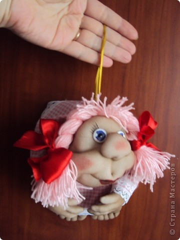 "Кукла на счастье ""РОЗОЧКА"" фото 4"