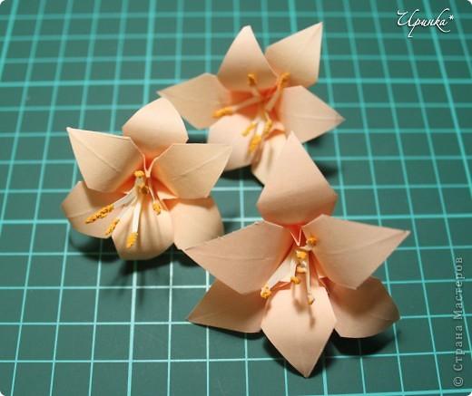 Лилии к 8 Марта. На создание этого панно с лилиями меня вдохновили работы мастериц Страны Мастеров. фото 3