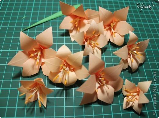 Лилии к 8 Марта. На создание этого панно с лилиями меня вдохновили работы мастериц Страны Мастеров. фото 4