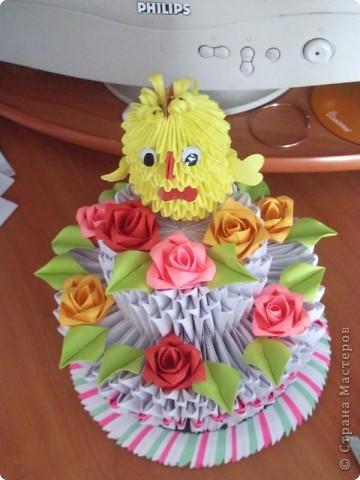 Мой первый тортик.Сделала на годик своей племяшке. фото 1