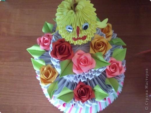 Мой первый тортик.Сделала на годик своей племяшке. фото 3