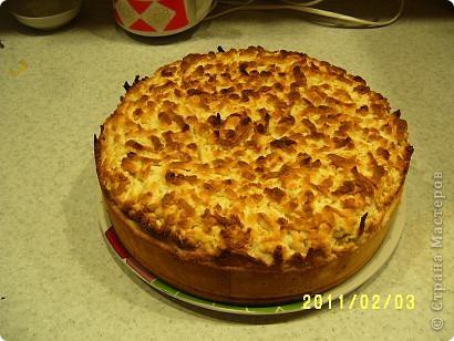 Я нашла рецепт яблочного пирога на просторах интернета, но приготовила я его сама. фото 6