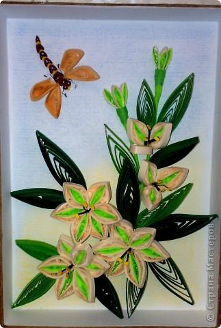 лилии - готовый вариант фото 1