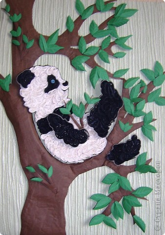У дочкиной подруги , скоро день рождение. Попросила сделать для нее композицию. Сразу захотела сделать панду(очень они мне нравится.) фото 1